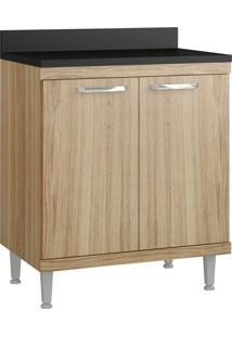 Armário De Cozinha 5122 Cx Com Tampo Argila Fosco Fr Argila Fosco - Multimóveis