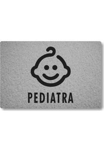 Tapete Capacho Pediatra - Prata