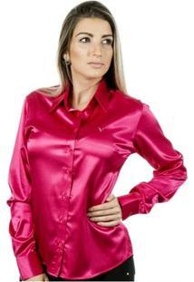 Camisa Pimenta Rosada Eléonore - Feminino-Rosa