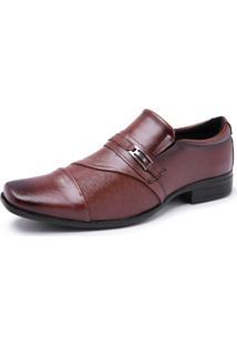 Sapato Social Schiareli Sintético Solado Borracha 1905 Marrom