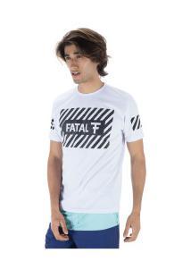 Camiseta Fatal Estampada 20388 - Masculina - Branco