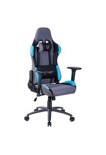 Cadeira Gamer Husky Racing Blue - Hrc-Blu