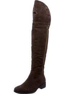Bota Over Knee Mega Boots 978 Café - Kanui