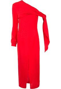 Matériel Vestido Slim - Vermelho
