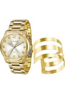 Kit Relógio Feminino Lince Lrg4391L K190C2Kx