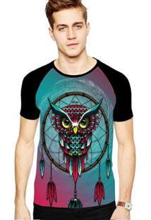Camiseta Stompy Raglan Modelo 189 Masculina - Masculino-Preto