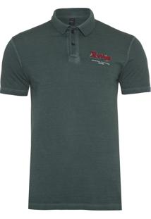 Polo Masculina Replay Original Clothing - Verde