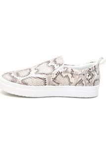 Tênis Slip On Animal Print Life Rock 1083-2 Cobra
