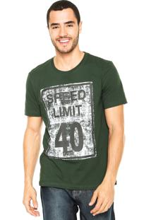 Camiseta M. Officer Speed Verde