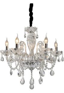 Lustre Lamp Show Ely Transparente