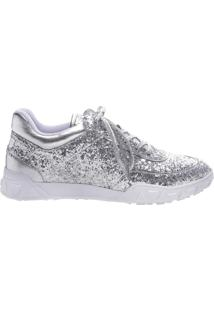 Tênis Glitter Silver | Schutz