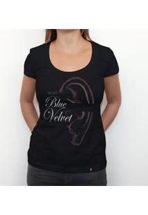 Blue Velvet - Camiseta Clássica Feminina