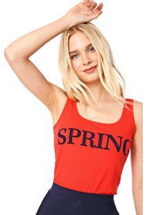 Regata Malwee Spring Vermelha