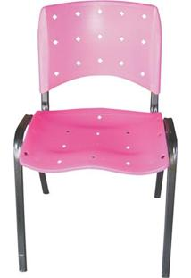 Cadeira Fixa Iso Rosa Ci-02 Pethiflex
