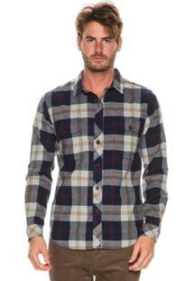 Camisa Billabong M/L Grayson Xadrez - Masculino