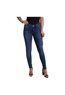 Calça Jeans Denuncia Skinny 24201 1 Un Azul - Azul - 48