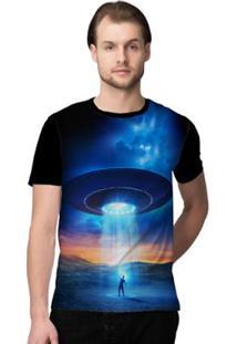 Camiseta Stompy Psicodelica5 Masculina - Masculino-Preto