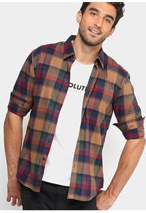 Camisa Xadrez Ellus 2Nd Floor Regular Fit Flanelada Masculina - Masculino
