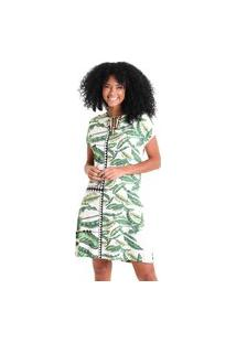 Vestido Manga Japonesa Maya - Verde - Líquido