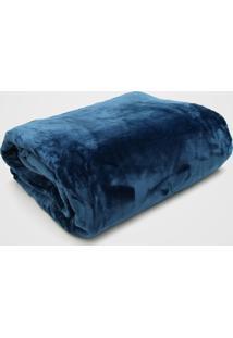 Cobertor Queen Kacyumara Blanket 600 Azul
