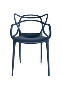 Cadeira Decorativa Para Sala De Jantar Amsterdam F01 Preta - Mpozenato