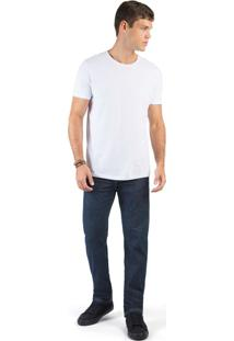Calça Jeans Reta Basic Stone