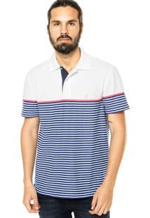 Camisa Polo Nautica Listrada Azul