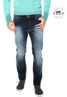 Calça Jeans Coca-Cola Jeans Skinny Estonada Azul