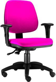 Cadeira Giratã³Ria Lyam Decor Job Rosa - Rosa - Dafiti