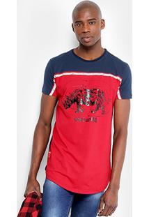 Camiseta Ecko Oversized Estampada Masculina - Masculino