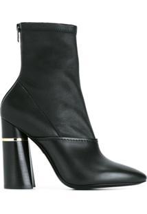 3.1 Phillip Lim Ankle Boot De Couro Modelo 'Kyoto' - Preto