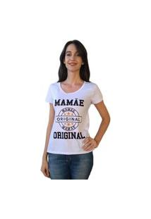 Camiseta Calupa Tal Mãe Tal Filhos Branco