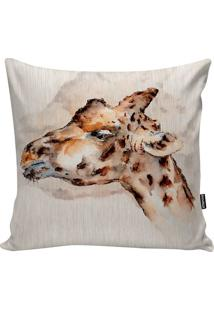 Capa De Almofada Giraffe- Bege Escuro & Marrom- 45X4Stm Home