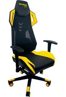 Cadeira Gamer Mx Ten Preta E Amarela