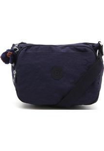 Bolsa Kipling Chaveiro Azul-Marinho