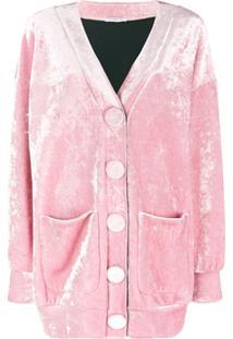 Vivetta Cardigan Oversized 'Bosh' - Rosa