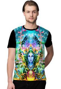 Camiseta Stompy Psicodelica13 Masculina - Masculino-Preto
