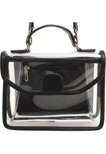 Bolsa Pequena Cristal - Feminino