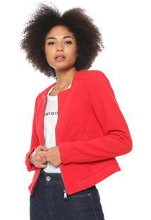 Jaqueta Malwee Spencer Vermelha