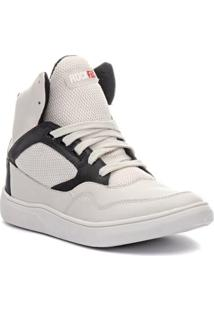 Tênis Sneaker Rock Fit Silverchair Em Couro Masculino - Masculino