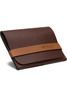 Carteira Porta Cartão Key Design - Wallet Prouve Brown - Masculino