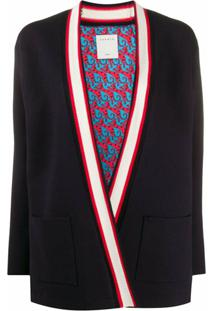 Sandro Paris Cardigan Catene - Preto