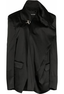 Y/Project Blazer Oversized Assimétrico - Preto