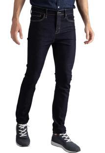 Calça Jeans Levis 510 Skinny Escura - 24903