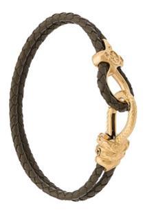 Nialaya Jewelry Bracelete De Couro - Verde