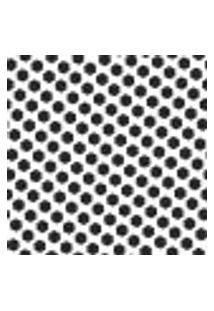 Papel De Parede Autocolante Rolo 0,58 X 3M - Preto E Branco 455