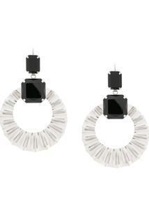 Isabel Marant Teardrop Pendant Earrings - Preto