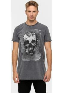 Camiseta Sommer Skull Estonada - Masculino