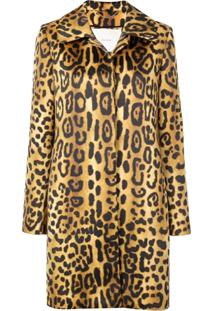 Adam Lippes Casaco Animal Print - Estampado