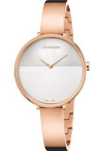 Relógio Calvin Klein Feminino Aço Rosé - K7A23646